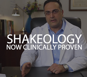 shakeology clinically proven